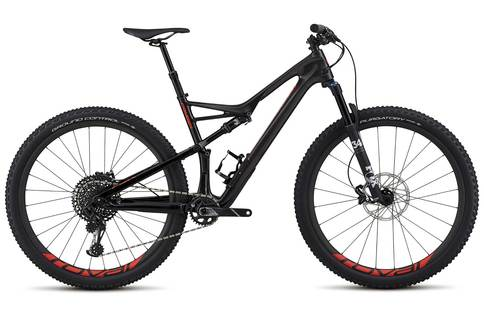 Specialized Camber FSR Expert Carbon 2018 Black Red