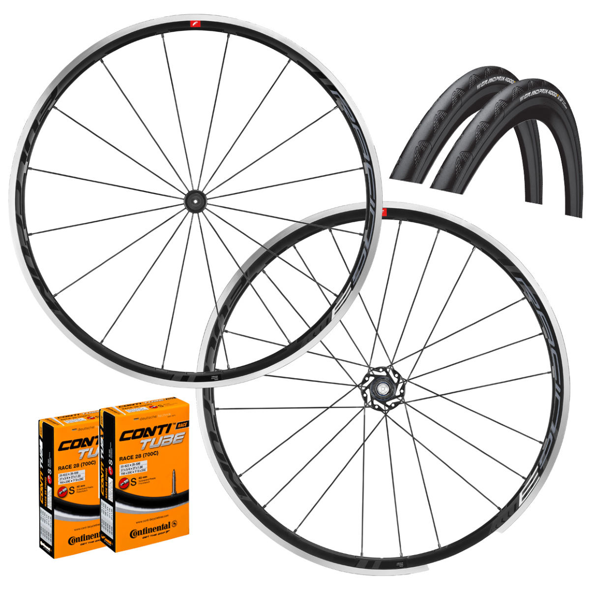Fulcrum Racing 3 C17 Clincher Wheelset GP4000S II Tyres amp Wheel Sets