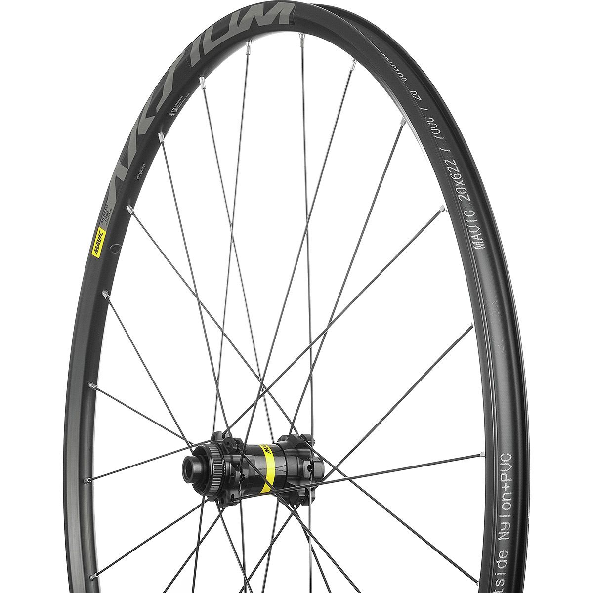 Mavic Aksium Allroad Disc Wheelset Clincher