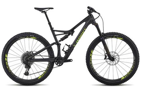 Specialized Works Stumpjumper FSR Carbon 2018 Black Green