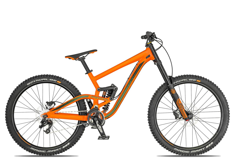 Scott Gambler 730 2019 orange green