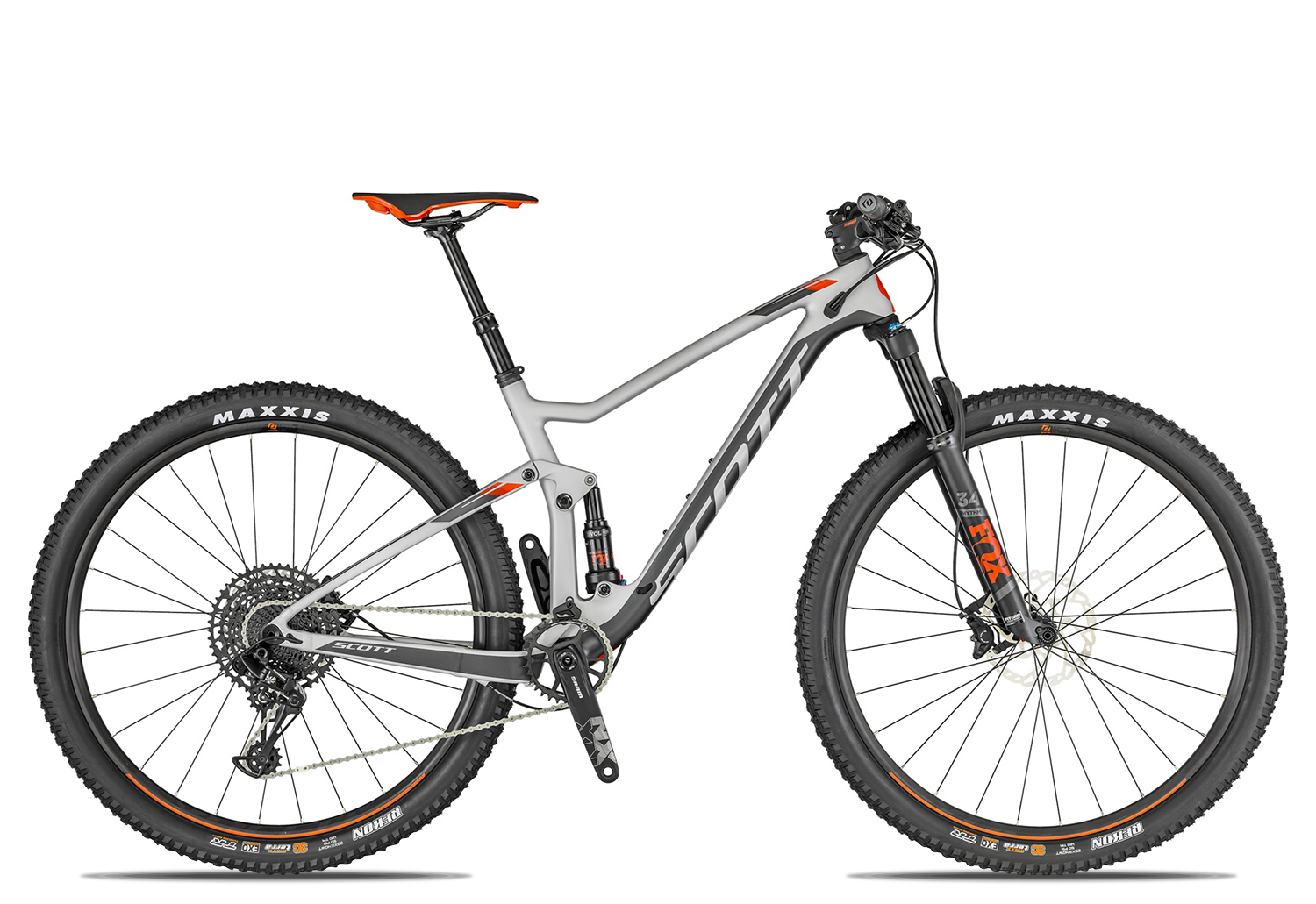 Scott Spark 930 2019 41 silver black red
