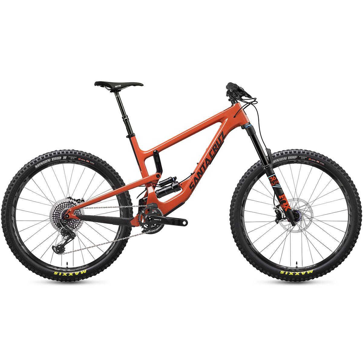 Santa Cruz Bicycles Nomad Carbon CC X01 Eagle RCT Coil Complete Orange