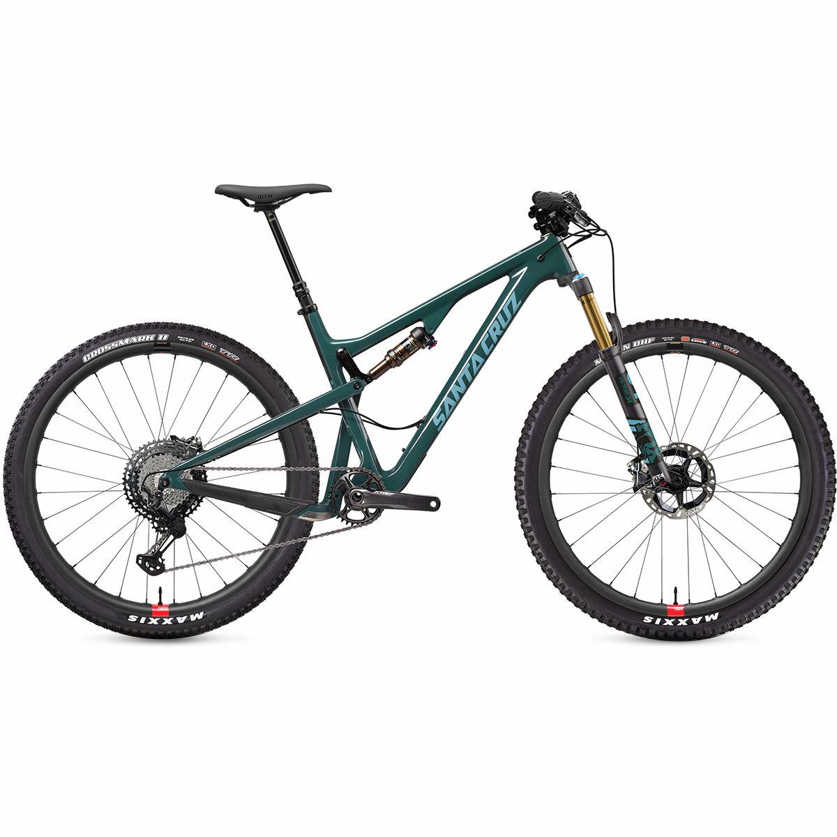 Santa Cruz Bicycles Tallboy Carbon CC XTR Reserve Complete Forest Green