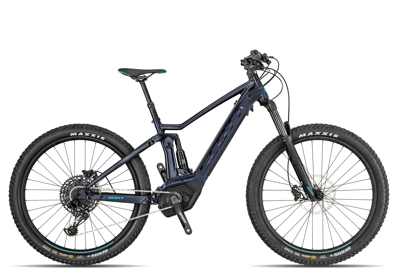 Scott Contessa Strike eRide 720 2019 Zoll glitter black blue