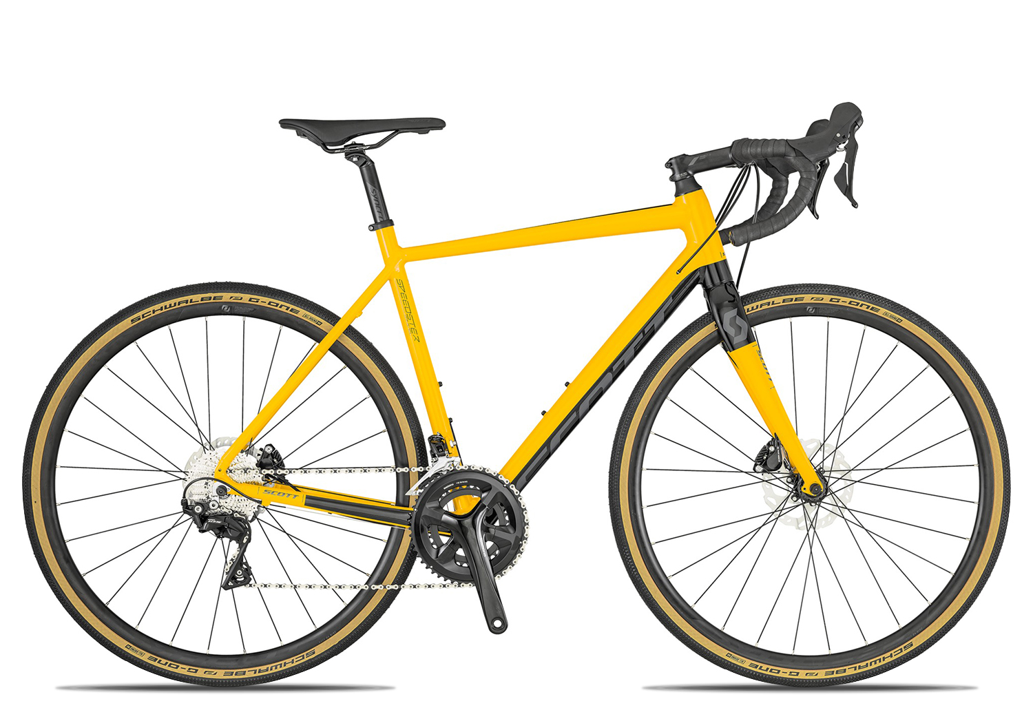 Scott Speedster Gravel 2019 49 gold black