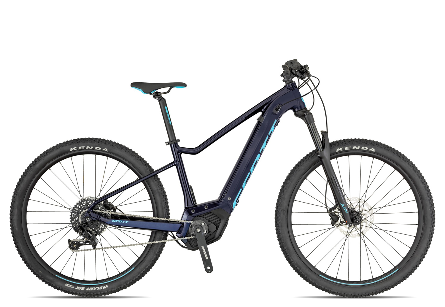 Scott Contessa Aspect eRide 2019 Zoll glitter black blue Zoll