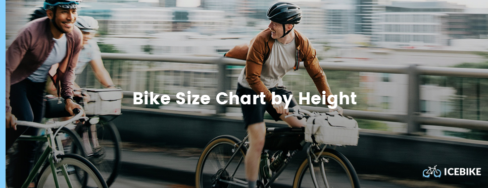 Bike size chart by height