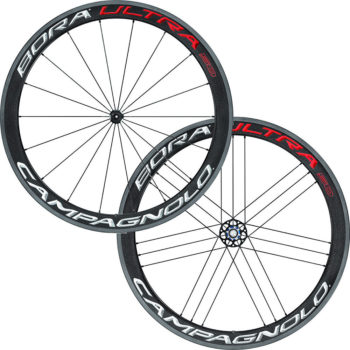 Campagnolo Bora Ultra 50 Clincher Wheelset 2019 Bright Label Shimano