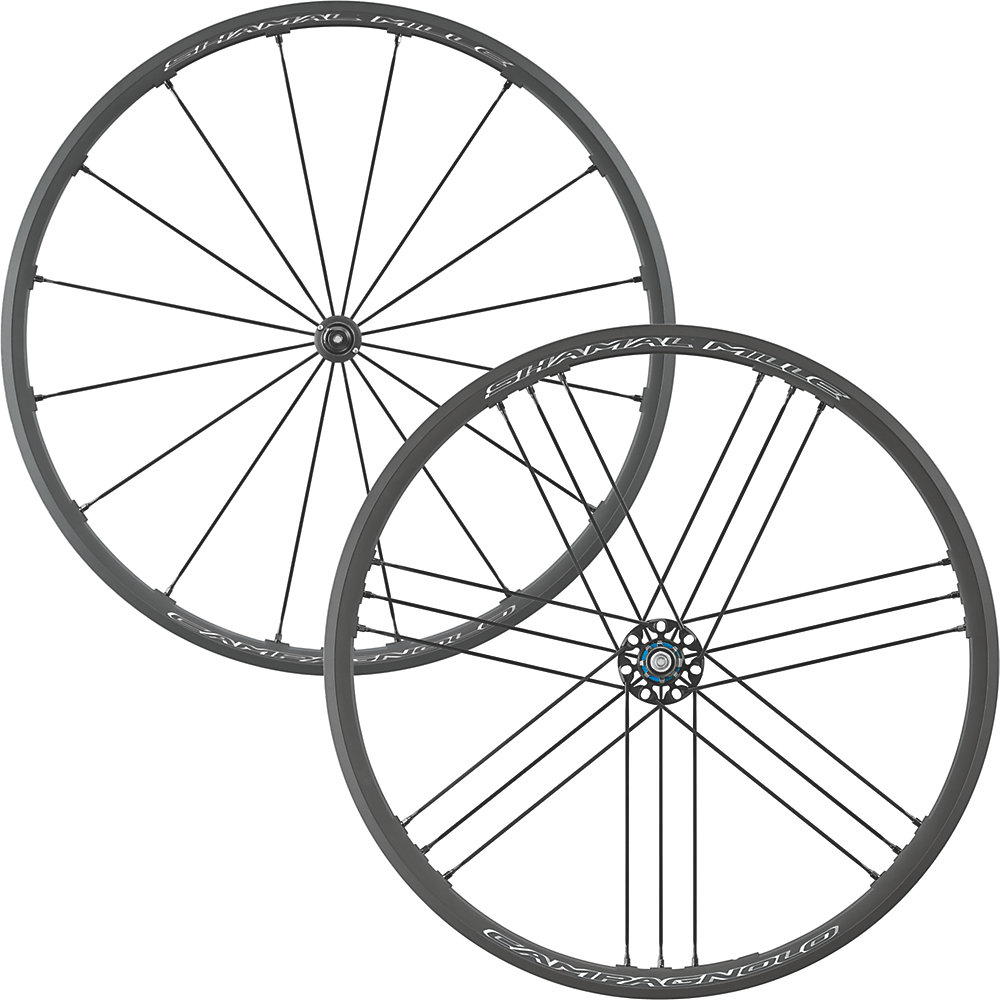 Campagnolo Shamal Mille C17 Clincher Wheelset 2019 - Campag Freehub