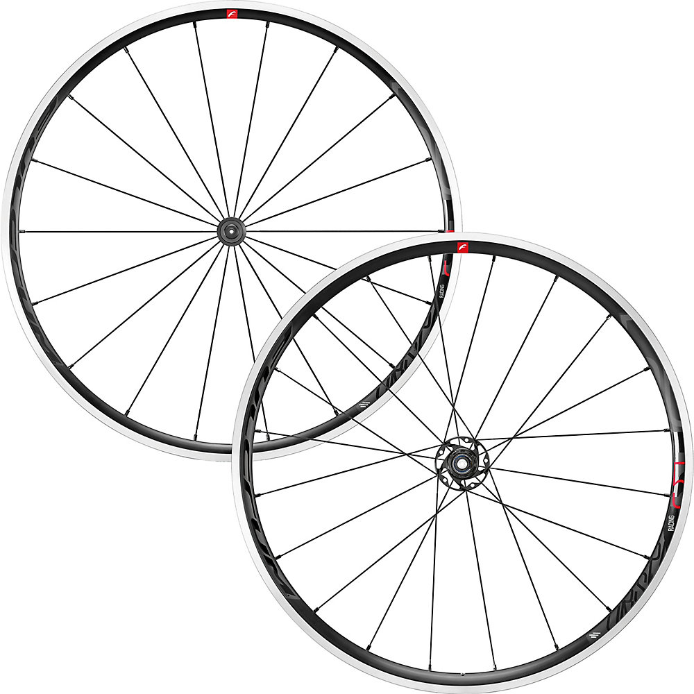 Fulcrum Racing 5 C17 Wheelset 2019 Black-Multi Campagnolo