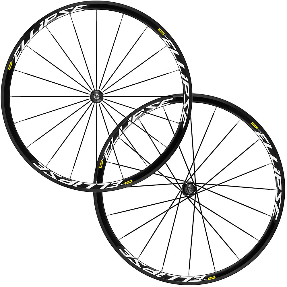 Mavic Ellipse Clincher Track Wheel Set - 700c
