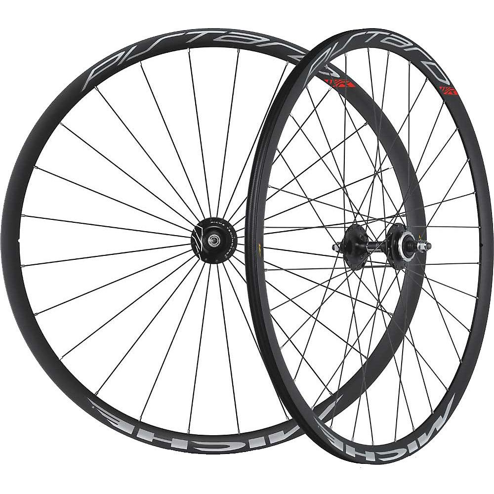 Miche Pistard Track Wheelset 2017 Black-Black 700c
