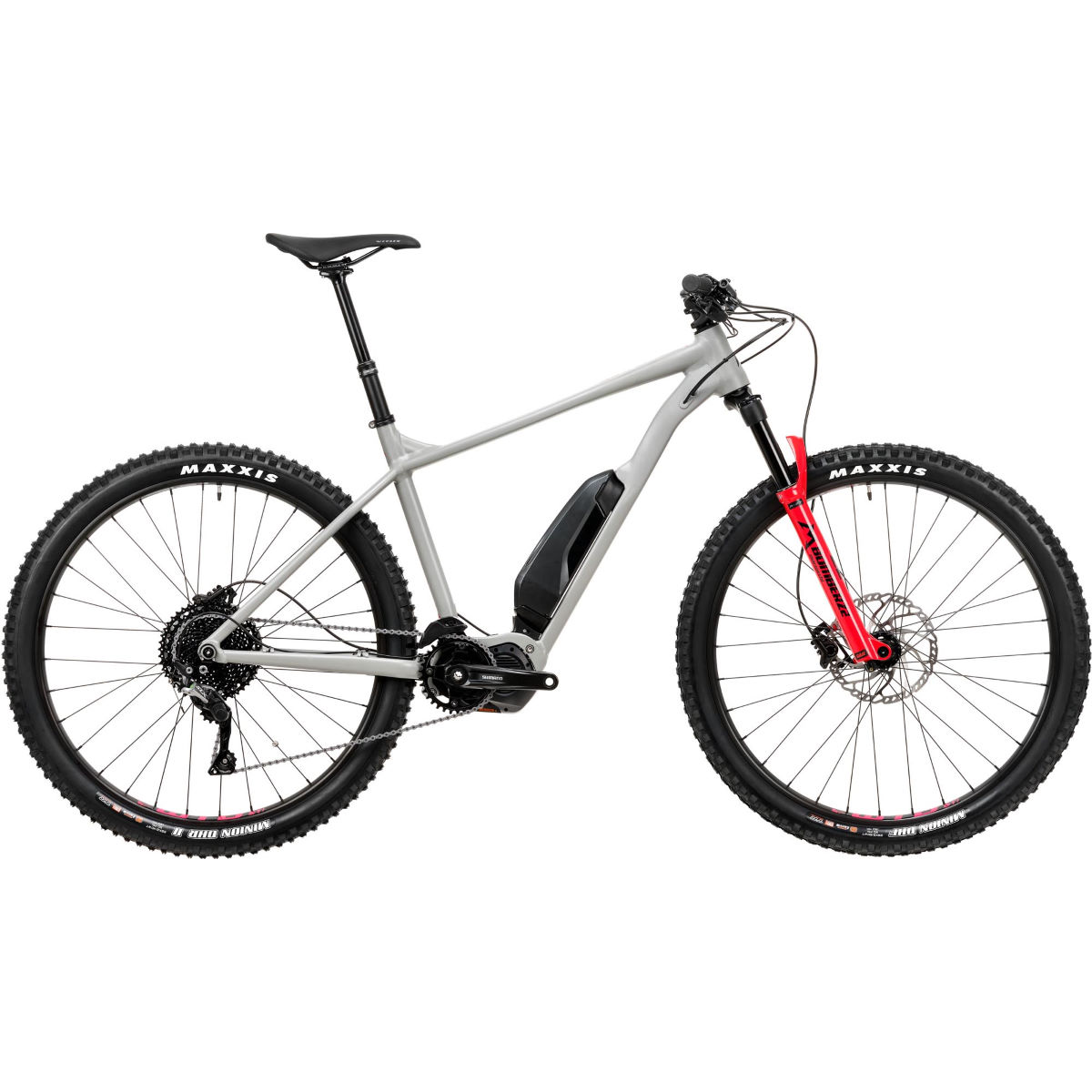 Vitus E-Sentier VR Electric MTB Grey Red Electric