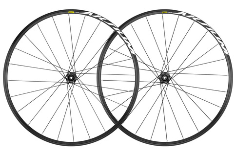 Mavic Aksium Clincher 6 Bolt Disc Brake 700c Wheelset