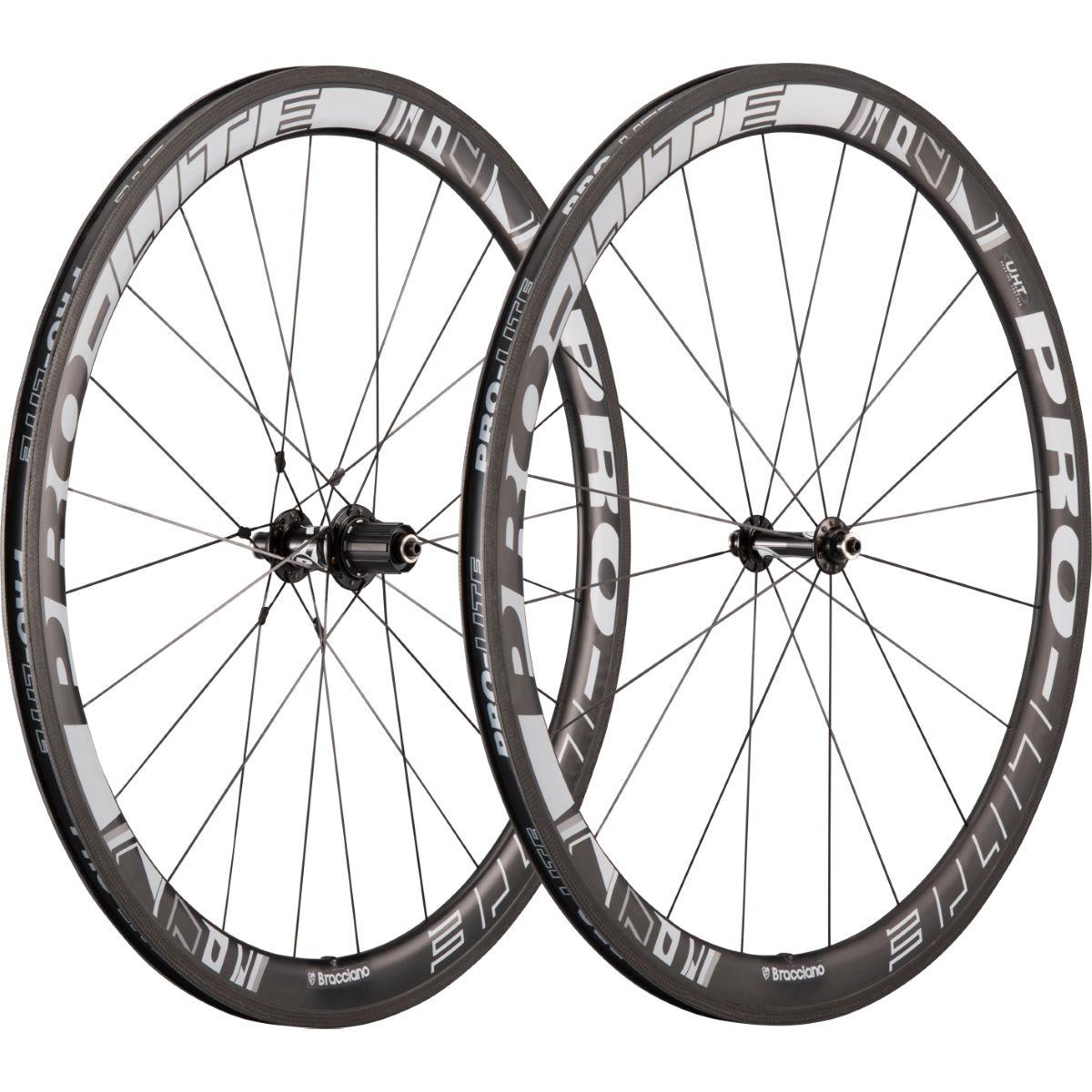Pro Lite Bracciano Caliente 45mm Carbon Clincher Wheelset Wheel Sets