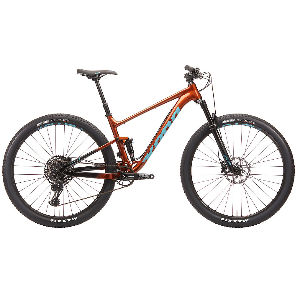 Kona Hei Hei Full 2020 Rust Orange Rust