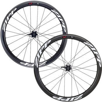 Zipp 303 Clincher Disc Wheelset Black-White Shimano Black-White