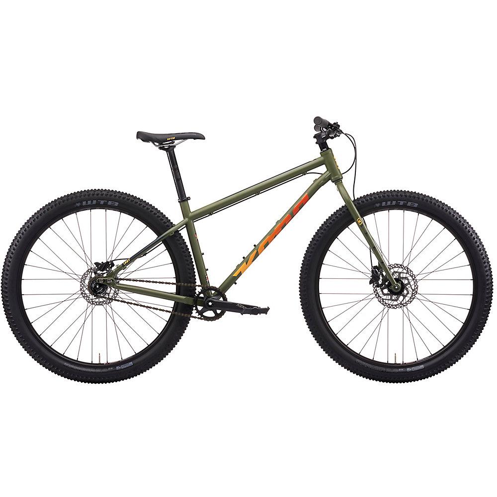 Kona Unit Hardtail Bike 2021 - Satin Fatigue Green, Satin Fatigue Green