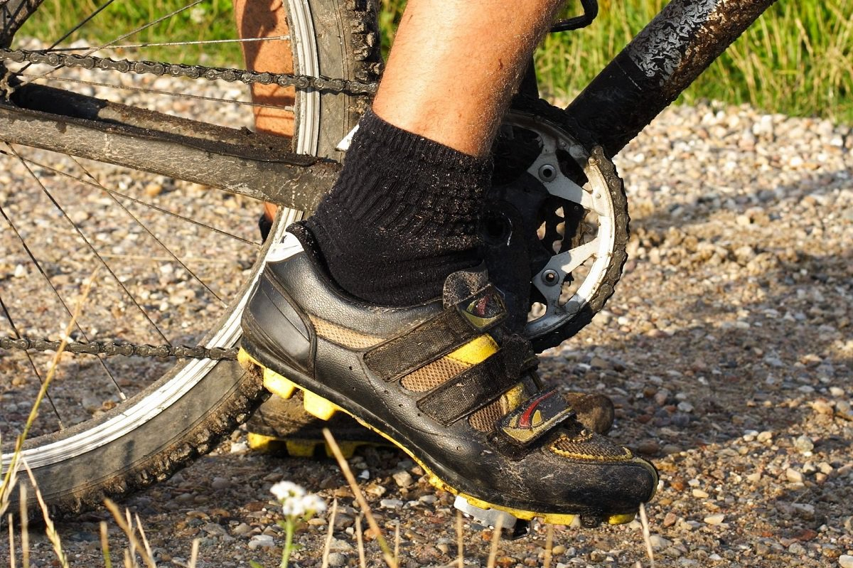 7fc04ee1410 Mountain bike shoes. When indoor cycling first started the ...