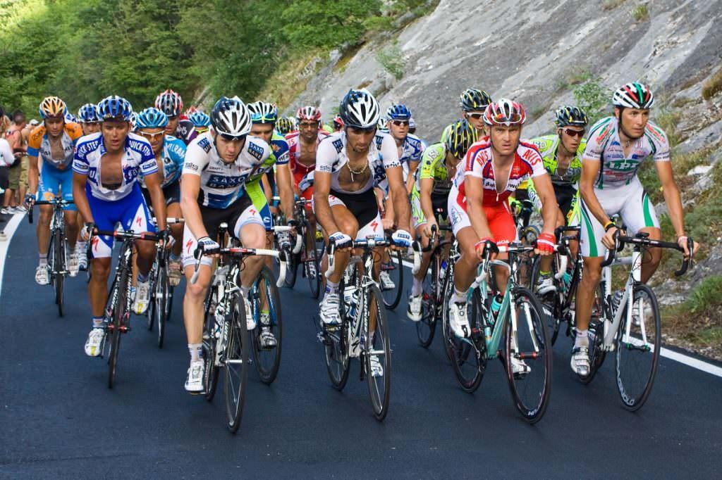 Road bike racers