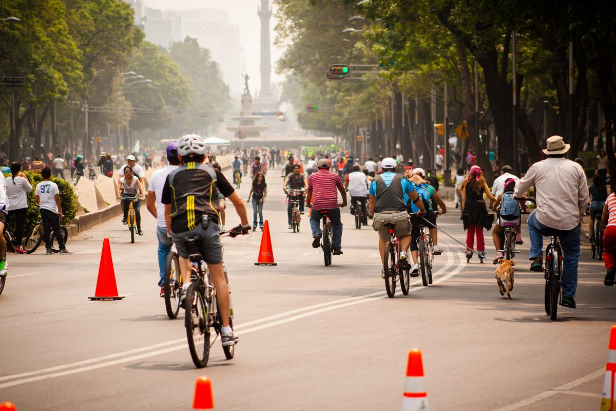 Biking the car free city