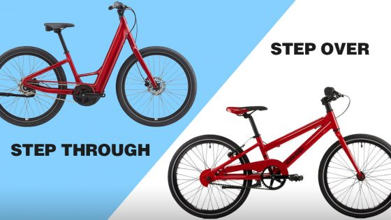 Step Through vs. Step Over Bikes