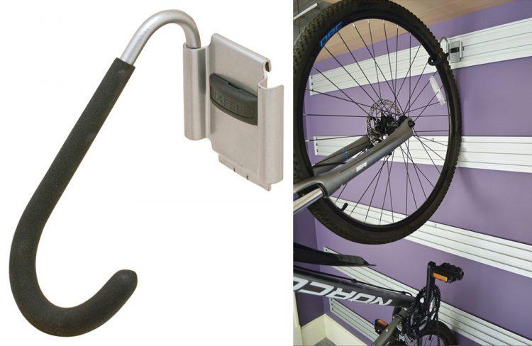 Bike Hook Tag Omni Track For Vertical Storage