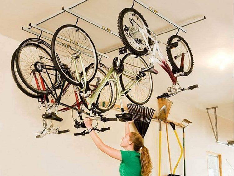 Saris Cycle Glide Ceiling Mount Storage Rack