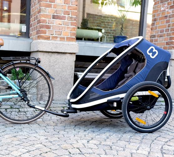Hamax Outback – Multi-Sport Child Bike Trailer – Stroller – Jogger