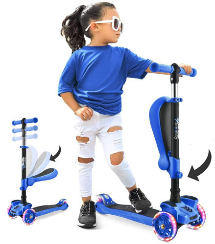 Hurtle 3 Wheeled Scooter For Kids
