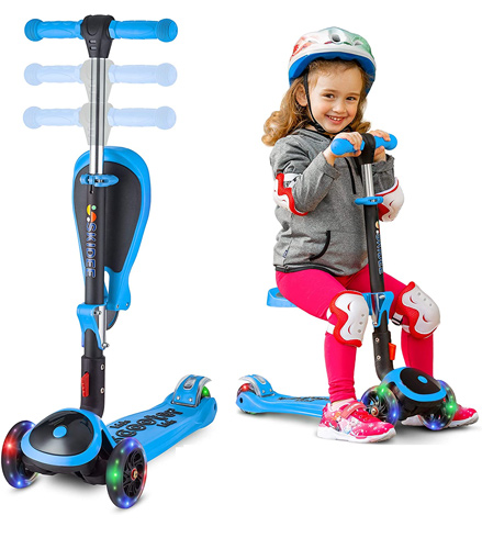 Skidee Kick Scooters For Kids