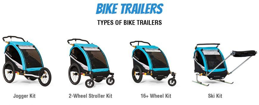 Types Of Bike Trailers
