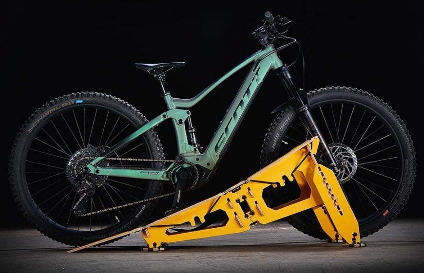 Bike With Jump Ramp