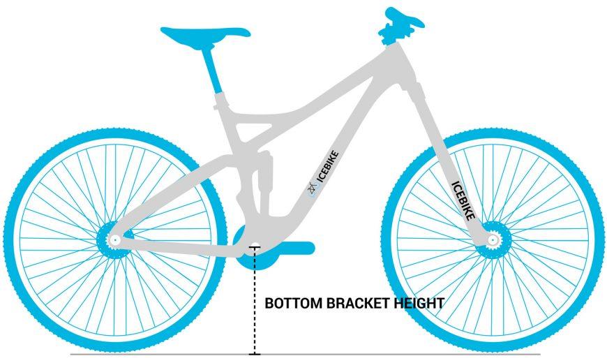 Mountain Bike Bottom Bracket Height