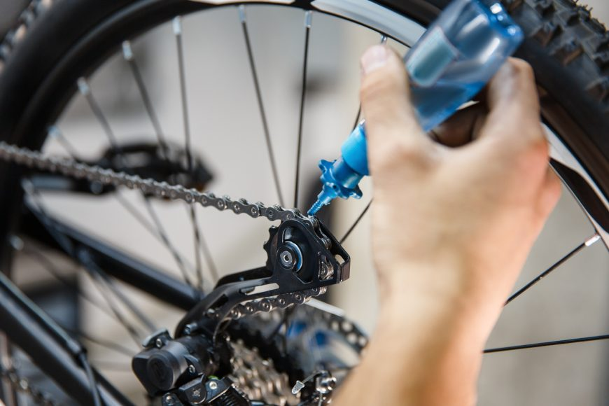 Oiling The Chain