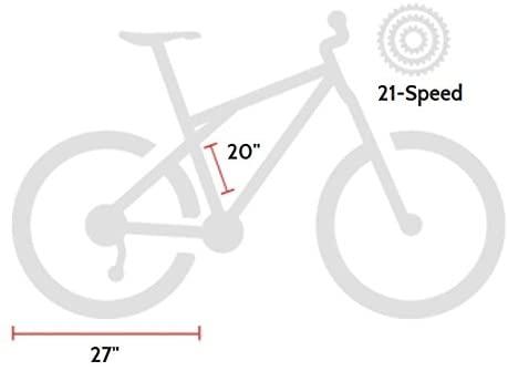 GMC Denali Road Bike Size