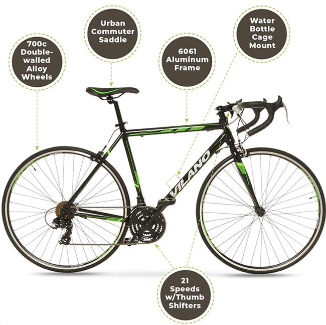 Vilano R2 Aluminum Road Bike