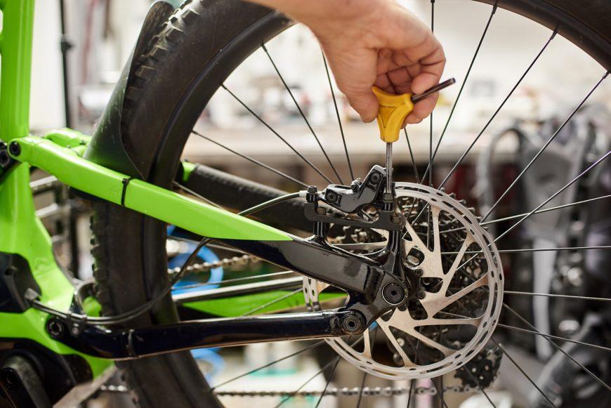 Fixing Bicycle Brakes