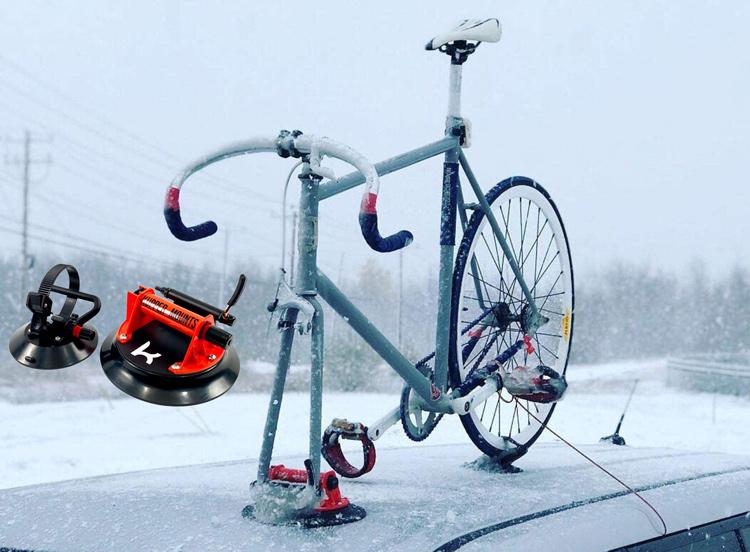 Kupper Mounts Suction Cup Bike Rack System