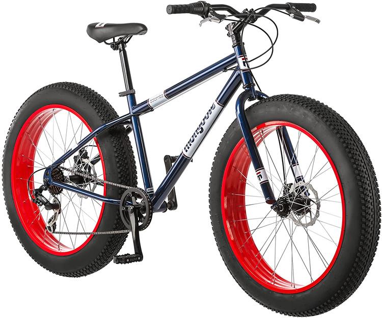 Mongoose Mens Fat Tire Mountain Bike