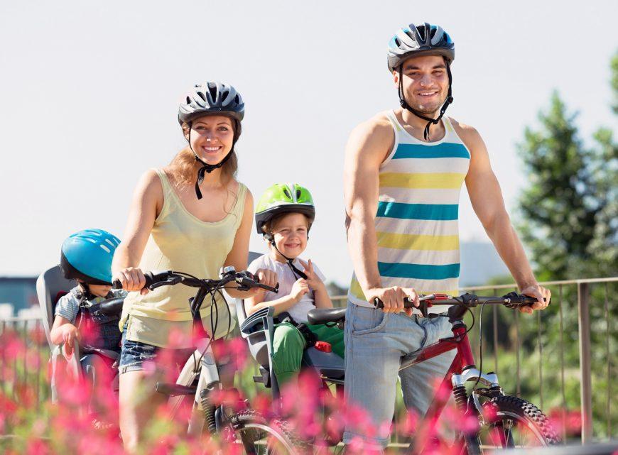 Preparing To Bike Ride