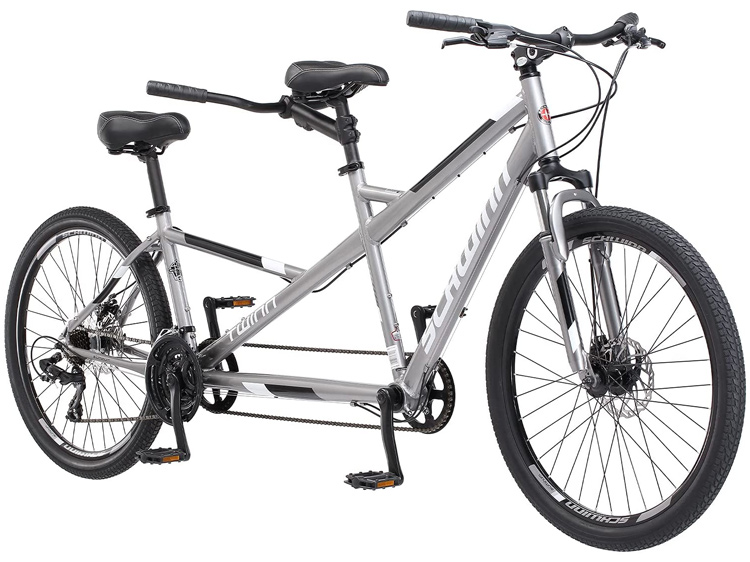 Schwinn Twinn Classic Tandem Adult Beach Cruiser Bike