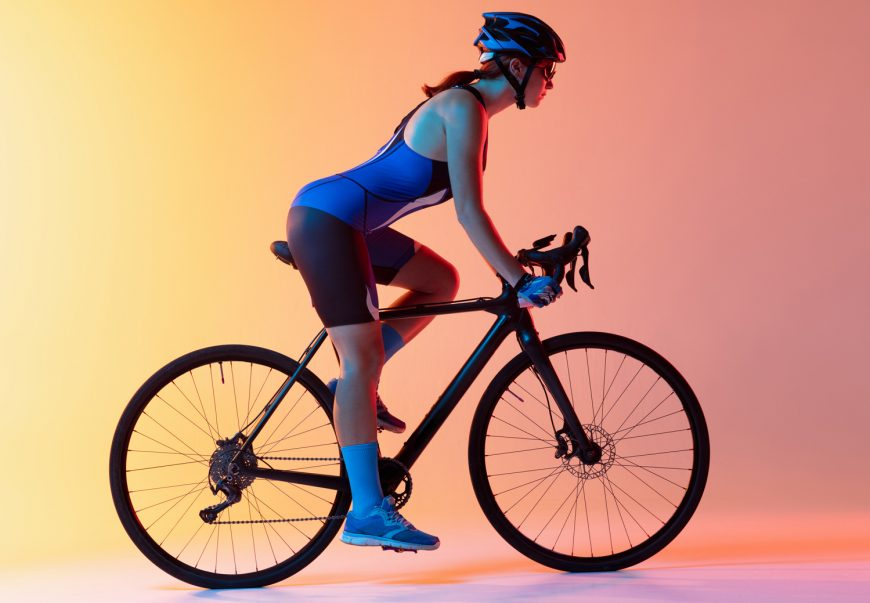 Biking Position Bending Your Elbows