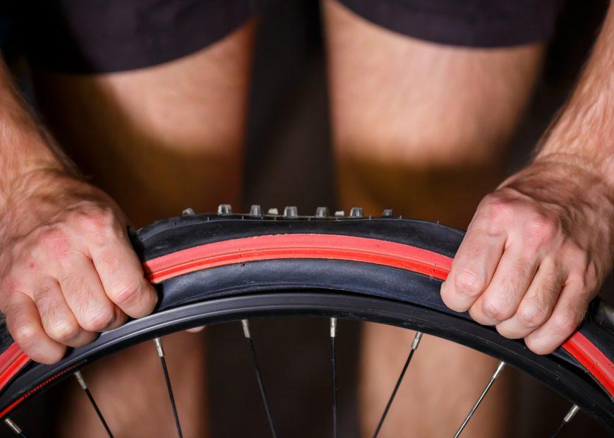 Changing Bicycle Wheel